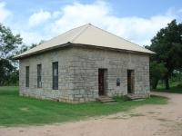 Outside view of the Crownover Chapel in Fairland.