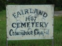 The sign at the entrance.