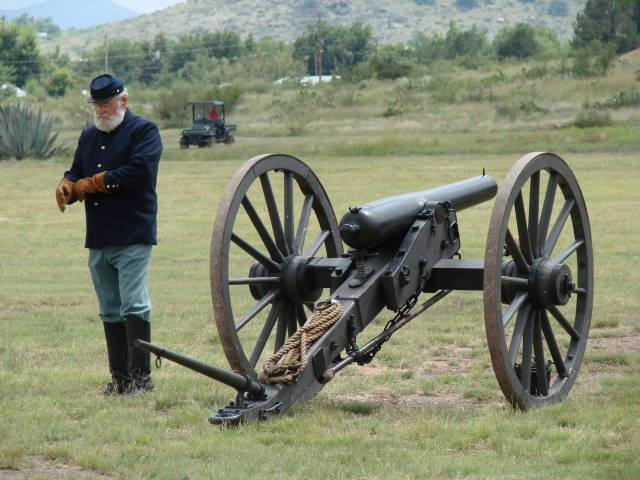 Artillery at Ft. Davis