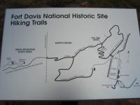 Trail map.