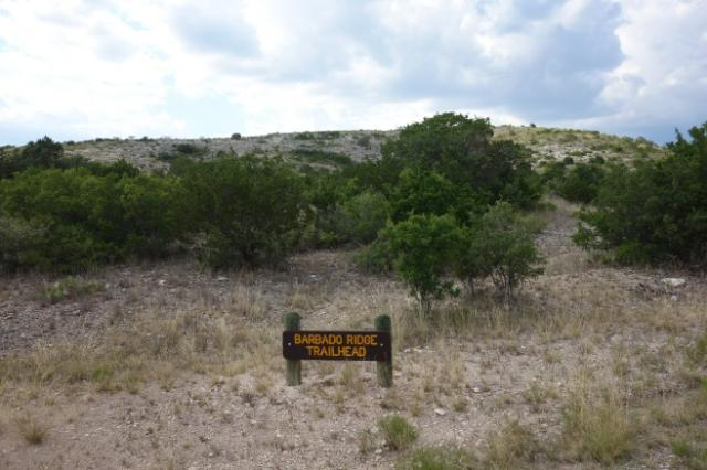 Barbado Ridge Trailhead