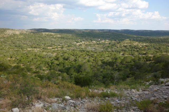 View From The Barbado Ridge Trail