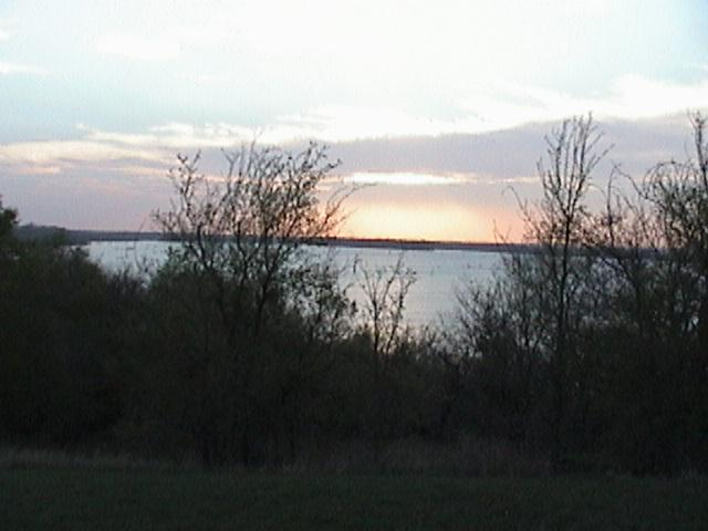 A Lake View From Site 21 At Dusk