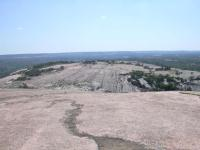 Looking at Little Rock to the west from Enchanted Rock.  (Photo courtesy of Dave McDonald)