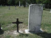 The final resting place of Deputy Sheriff A.W. Grimes, killed by the Bass gang in 1878.