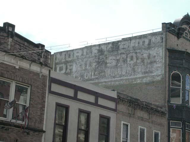 Austin explorer austins painted advertising the grove drugstore on 6th used to go by another name malvernweather Images