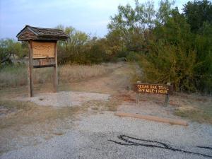 Texas Oak Trail Head