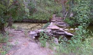Dam trail