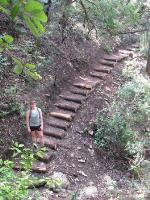Did we mention that there are lots of stairs on this trail?