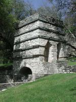 Closer view of the kiln