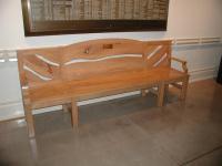 Memorial Pecan Bench
