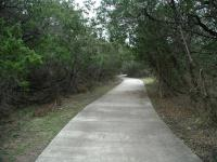 The trail in Longview Park itself is paved and easy as can be.