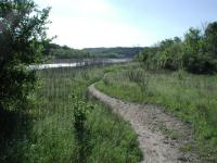 Trail and Lake