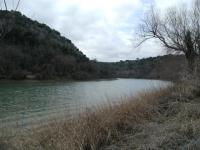 The Colorado River as seen along the trail.