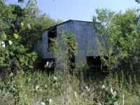 This barn is the largest remaining structure at the site.