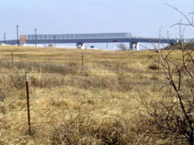 Pedestrian Bridge over the Highway
