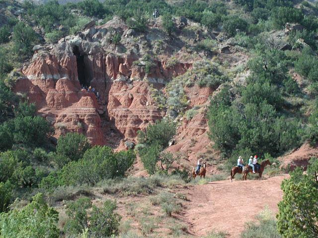 Cave and Horses