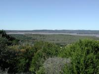 Looking towards Lake Buchanan with the western part of Canyon of the Eagles below.