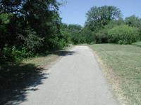 Much of the trail is exposed to the Sun, but a few portions provide at least a little bit of shade.