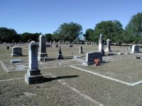 A wide view of the cemetery. The South Gabriel Cemetery Assoc. does a great job of maintaining the site.