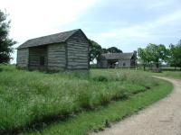 The Danz cabin predates the Sauer-Beckmann farm.