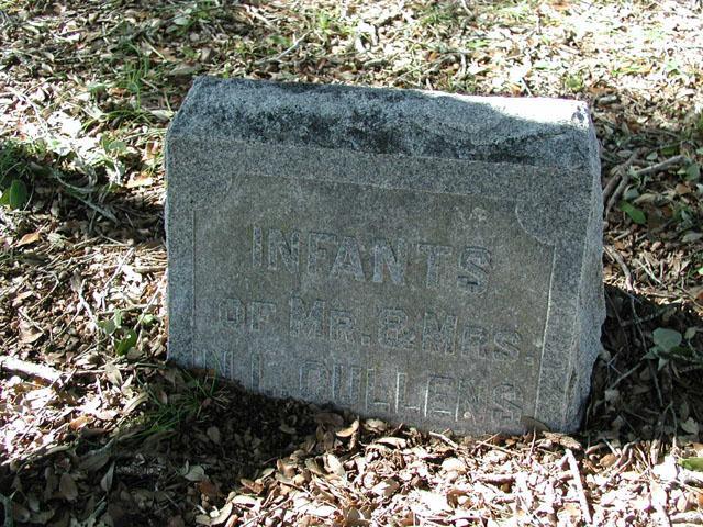 Infants grave