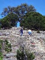 Climbing Old Baldy - Garner SP