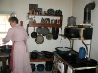 Real meals are prepared just as they were 100 years ago with ingredients mostly grown and harvested at the farm.