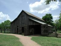 The barn was constructed in or around 1915.