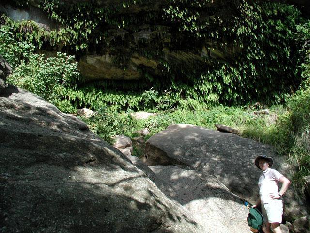 Coppertone at the grotto