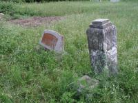 The oldest headstones in Rhodes read 1907