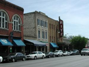 Ritz Theater as seen along 6th Street