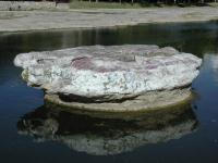 The round rock in Round Rock.