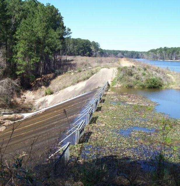 Lake Raven spillway