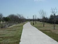 Pflugerville's trail system is completely paved, making it ideal for joggers or beginning hikers.