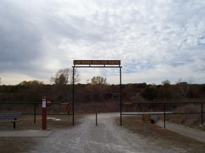 Weatherford Trailhead of Lake Mineral Wells Trailway