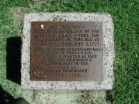 Washington Elm Plaque