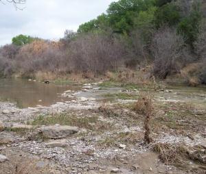Paluxy River, east crossing