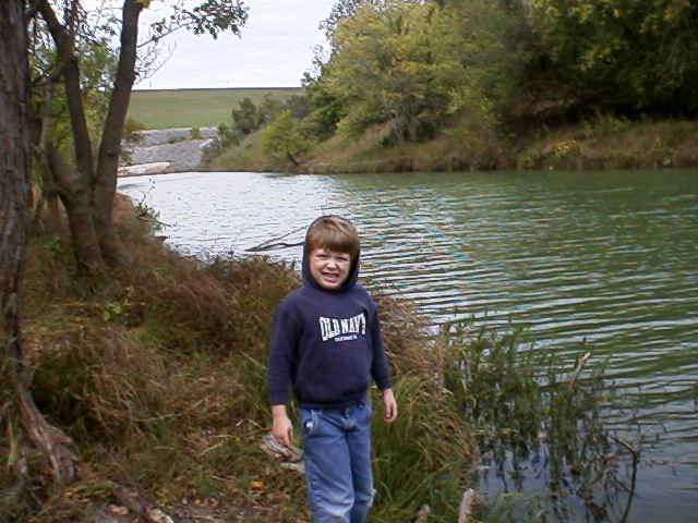 Hiking the creek