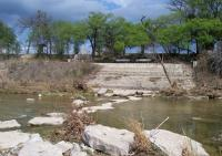 Paluxy River, west crossing