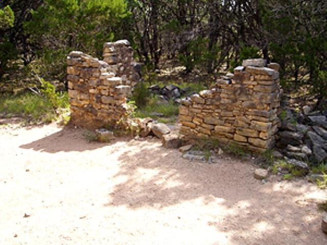 House Ruins - Pedernales Falls - Wolf Mountain Trail
